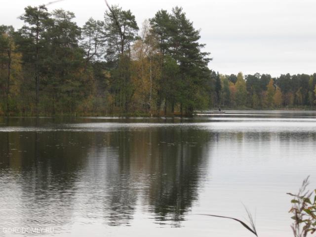 озеро дивное на Городомле