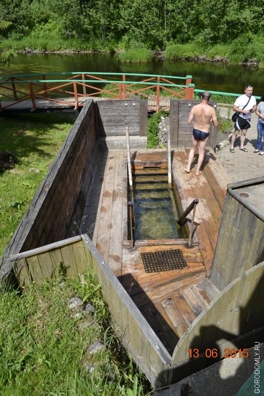 купальня источника