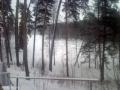 Внутреннее озеро на Городомле зимой