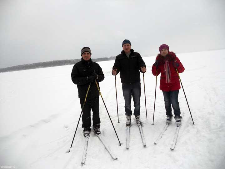 Лыжные прогулки по Селигеру.