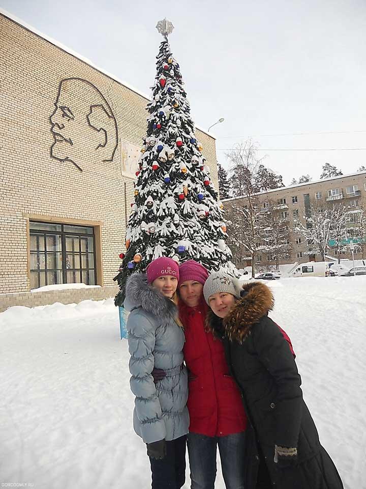 Главная новогодняя ёлка Городомли.
