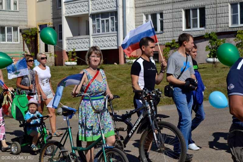 Велопробег молодых семей