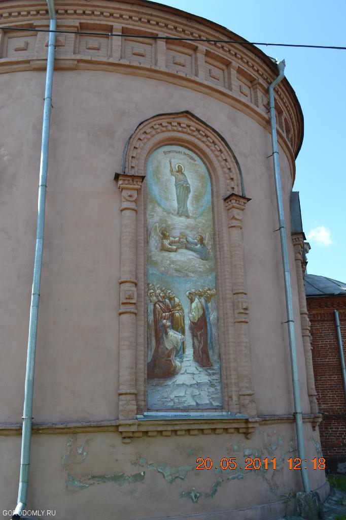 Фрески на Знаменской церкви