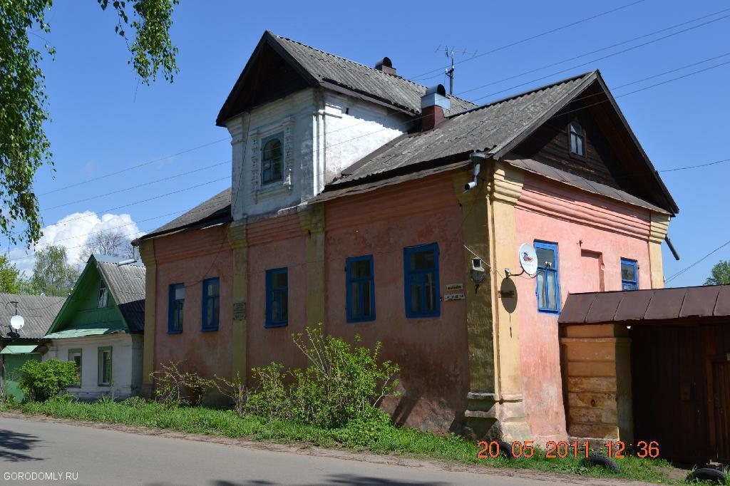 дома Осташкова застройки конца XVIII века