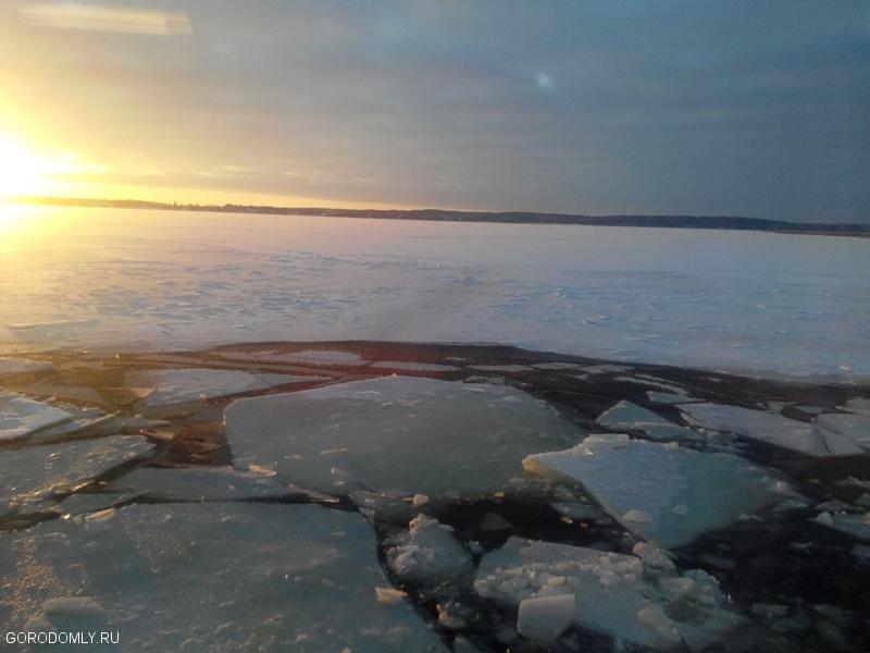Зимний Селигер в середине января 2014 года