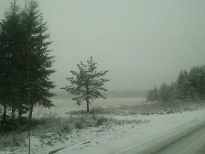 Зима идёт в Осташков