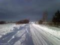 Зимняя дорога вдоль Селигера