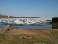 Состояние льда на Селигере 26 апреля 2011г.