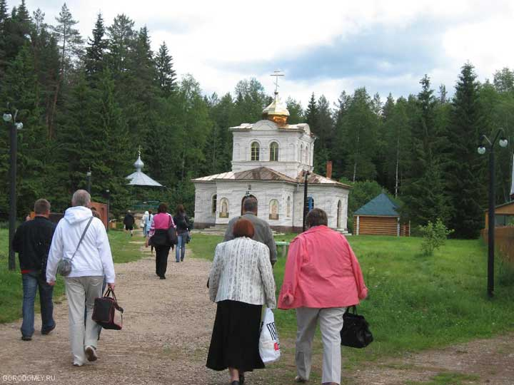 Храм оковецкого источника