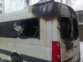 В Осташкове подожгли пассажирский автобус
