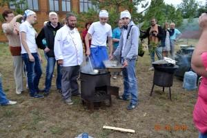 На фестивале Селигерский рыбник