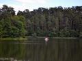 Катание на катамаране по озеру