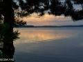 Красивый закат на Селигере