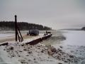 Зимняя пристань на Кличене