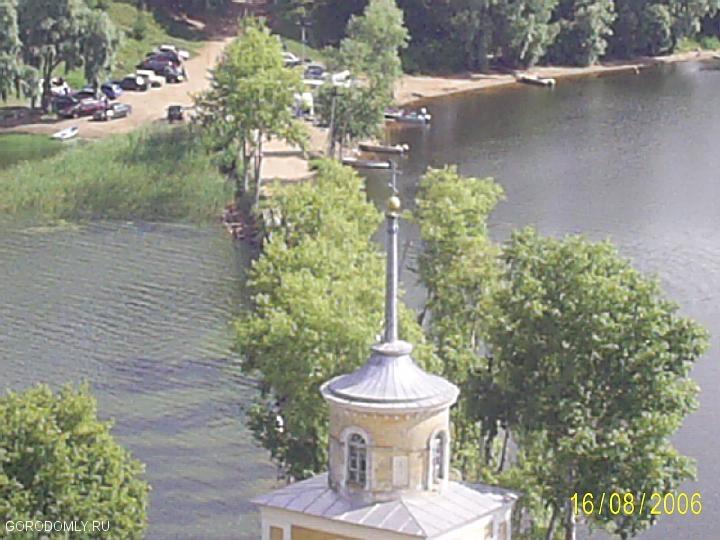мост на остров Столбный