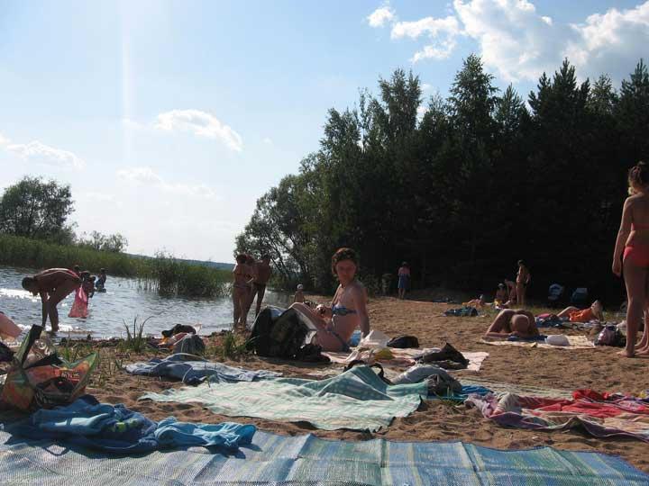 Пляж Городомли.