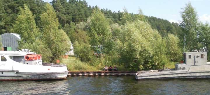 Рыбалка на Городомле.