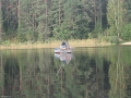 Утренняя рыбалка на Селигере.