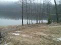 Городомля. Берег внутреннего озера почистили.