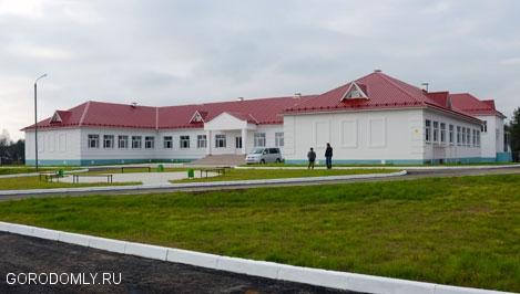 Новая школа в Осташковском районе.